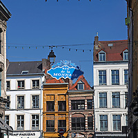 Europe, France, Lille. Streets of Lille.