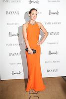 LONDON - OCTOBER 31: Emily Blunt attended the Harper's Bazaar Women of the Year Awards at Claridge's Hotel, London, UK. October 31, 2012. (Photo by Richard Goldschmidt)