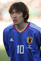 Shunsuke Nakamura (JPN), <br /> MARCH 25, 2005 - Football : <br /> 2006 FIFA World Cup Germany <br /> Preliminary Competition -Group B- <br /> between Iran 2-1 Japan <br /> at Azadi Stadium, Teheran, Iran.  <br /> (Photo by AFLO SPORT/Digitalsport<br /> Norway only
