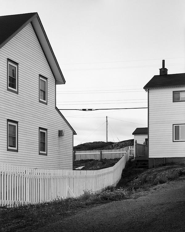 Saltbox Houses, Fogo Island, NL