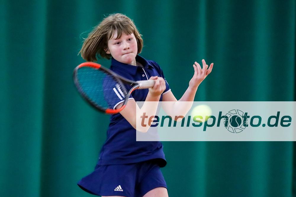 Corinna Rietmann (TK Blau-Gold Steglitz), Vizemeisterin U12 weiblich, TVBB-Jugendhallenmeisterschaften 2018 U12 und U14, Seeburg, 21.01.2018, Foto: Claudio Gärtner