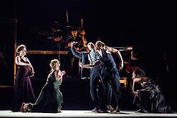 © Licensed to London News Pictures. 05/06/2013. Clod Ensemble's Zero, London Premier. Sadler's Wells Theatre, London. Photo credit: Tony Nandi/LNP