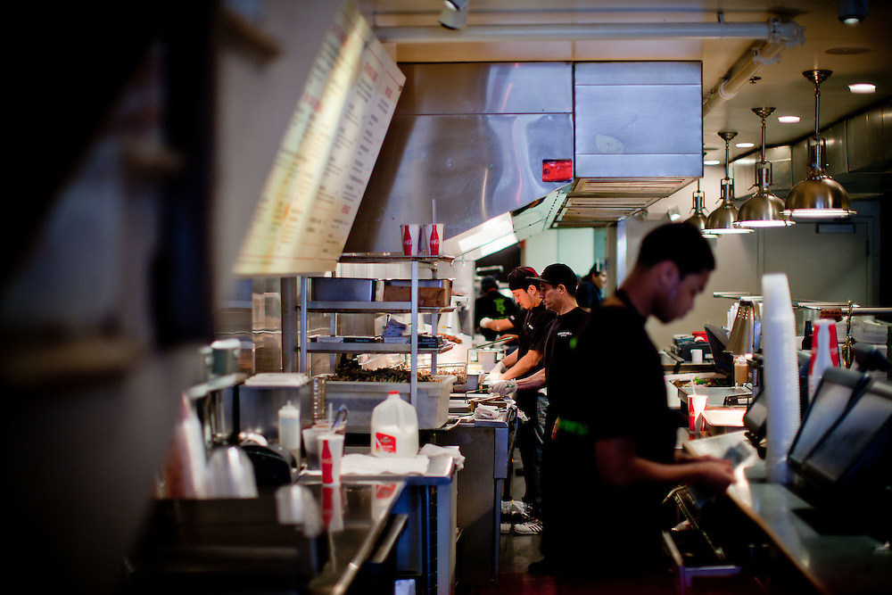 The kitchen at Good Stuff Eatery.