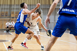 Dan Duscak of Ilirija during basketball match between KK Nutrispoint Ilirija and KK Sentjur in Round #3 of Nova KBM League 2021/22, on October 18, 2021 in Hala Tivoli, Ljubljana, Slovenija. Photo by Vid Ponikvar / Sportida