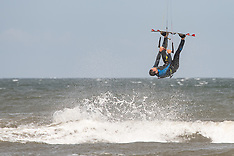 Kite Surfing at Portobello Beach, Edinburgh, 9 August 2020