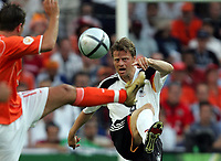 Fotball,  Portugal, EM, Euro 2004, 150604, Tyskland - Nederland<br /> Christian Woerns, Tyskland<br /> Photo:Digitalsport