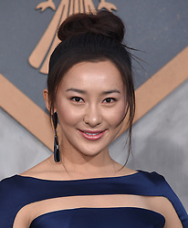 Wesley Wong at the 'Pacific Rim Uprising' Global Premiere event at Chinese Theatre on March 21, 2018 in Hollywood, CA. 21 Mar 2018 Pictured: Lily Ji. Photo credit: O'Connor/AFF-USA.com / MEGA TheMegaAgency.com +1 888 505 6342