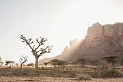 Mountains near Hawzen Town, Gheralta area, Tigray, Ethiopia, Horn of Africa