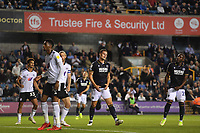 Football - 2021 / 2022 EFL Sky Bet Championship - Millwall  vs Fulham - The  Den - Tuesday 17th August 2021<br /> <br /> Millwall's Matt Smith dejected as late pressure doesn't produce an equaling goal.<br /> <br /> COLORSPORT/Ashley Western