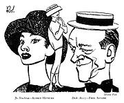 Funny Face : Jo Stockton — Audrey Hepburn ; Dick Avery — Fred Astaire