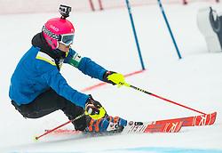 Forerunner Pika Dvornik during  the 6th Ladies'  GiantSlalom at 55th Golden Fox - Maribor of Audi FIS Ski World Cup 2018/19, on February 1, 2019 in Pohorje, Maribor, Slovenia. Photo by Vid Ponikvar / Sportida