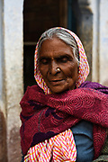 Portrait of an indian woman, Jaipur, Rajasthan province.