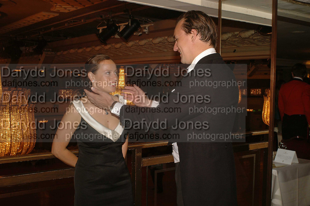 NICHOLAS FRANKOPAN AND NATASHA OPPENHEIM. The Royal Caledonian charity Ball 2006.Grosvenor House. London. 5 May 2006. . ONE TIME USE ONLY - DO NOT ARCHIVE  © Copyright Photograph by Dafydd Jones 66 Stockwell Park Rd. London SW9 0DA Tel 020 7733 0108 www.dafjones.com