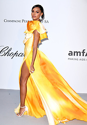 Jasmine Tookes attending the 26th amfAR Gala held at Hotel du Cap-Eden-Roc during the 72nd Cannes Film Festival. Picture credit should read: Doug Peters/EMPICS