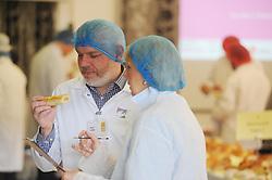 Scottish Bakery Awards_Dunfermline Blcc_17-04-2019<br /> <br /> Checking out the sausage rolls<br /> <br /> (c) David Wardle   Edinburgh Elite media