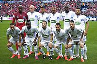 Equipe Auxerre - 30.05.2015 - Auxerre / Paris Saint Germain - Finale Coupe de France<br /> Photo : Andre Ferreira / Icon Sport