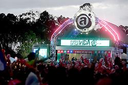 Movimento de público  durante o segundo dia do Planeta Atlântida 2015, que acontece nos dias 30 e 31 de Janeiro de 2015, na Saba, em Atlântida. FOTO: Vinicius Costa/ Agência Preview