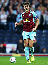 James Tarkowski of Burnley - Mandatory by-line: Matt McNulty/JMP - 23/08/2017 - FOOTBALL - Ewood Park - Blackburn, England - Blackburn Rovers v Burnley - Carabao Cup - Second Round