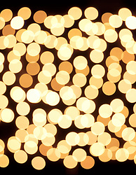 lights with bokeh effect