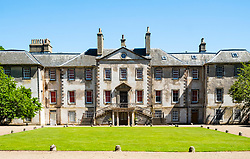 Newhailes House a Palladian style villa in Newhailes Estate. Midlothian, Scotland, UK