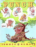 Punch Summer Number 1943 (front cover)