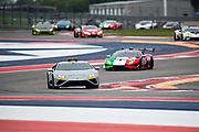 May 21-23, 2021. Lamborghini Super Trofeo, Circuit of the Americas:  Lamborghini Huracan Safety Car