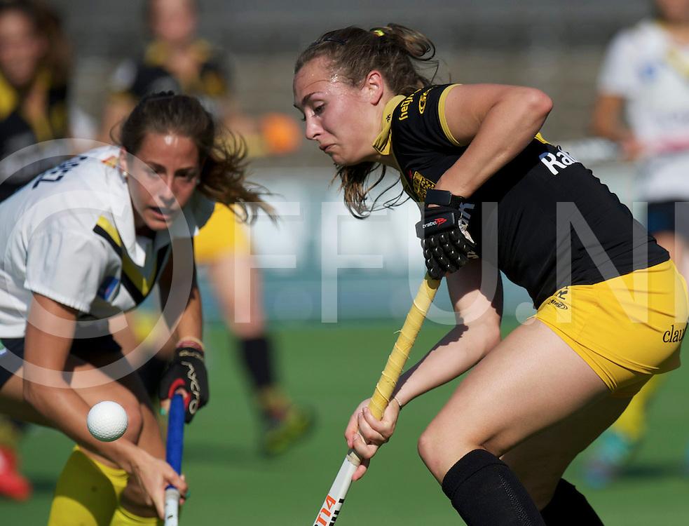 Amstelveen - Eurohockey Club Champions Cup<br /> HC 's Hertogenbosch - Club de Campo<br /> foto: duel.<br /> FFU PRESS AGENCY COPYRIGHT FRANK UIJLENBROEK