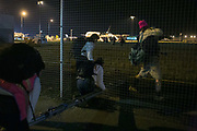 15 activists enter Stansted Airport and block a chartered deportation flight on 28th of March 2017 at Stansted Airport, Stansted, United Kingdom. The activists locked themselves together near the plane in a secluded part of the airport. The flight was scheduled for Nigeria and Ghana to take 57 deportees, some of whom risking imprisonment and possible death in their home country according to the activists research. A number of the fifty-seven scheduled on the flight that night are still in the UK pending case hearings and at least two has since been allowed to stay in the UK.  Without the Stansted 15s intervention this would not have happened. The 15 activists were found guilty in December 2018 and sentenced February 2019. Twelve were given community orders, three were given a suspended jail term sentences.