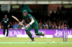 Alex Hales of Nottinghamshire plays a shot onto the leg side during the Royal London One-Day Cup Final - Mandatory by-line: Robbie Stephenson/JMP - 01/07/2017 - CRICKET - Lord's Cricket Ground - London, United Kingdom - Nottinghamshire v Surrey - Royal London One-Day Cup Final 2017