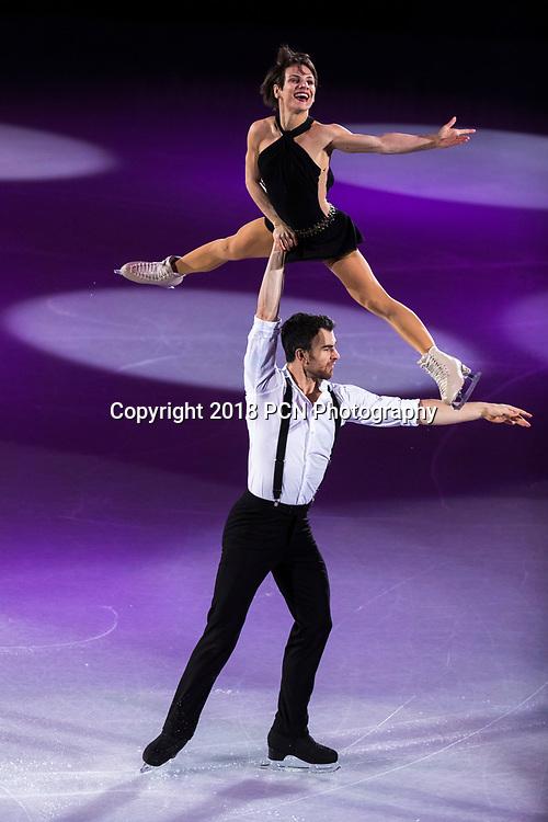 Meagan Duhamel/Eric Radford (CAN) performing at the Figure Skating Gala Exhibition at the Olympic Winter Games PyeongChang 2018
