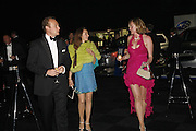 SAM GLOVER, PONTINE PAUS AND SALLY LEESON, The 28th Game Conservancy Trust Ball, In association with Barter Card. Battersea Park. 18 May 2006. ONE TIME USE ONLY - DO NOT ARCHIVE  © Copyright Photograph by Dafydd Jones 66 Stockwell Park Rd. London SW9 0DA Tel 020 7733 0108 www.dafjones.com