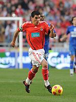 20090117: LISBON, PORTUGAL - SL Benfica vs Belenenses: Portuguese League Cup 2008/2009. In picture: Maxi Pereira (Benfica). PHOTO: Alvaro Isidoro/CITYFILES