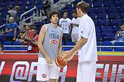 DESCRIZIONE: Berlino EuroBasket 2015 - <br /> Allenamento<br /> GIOCATORE: Amedeo Della Valle<br /> CATEGORIA: Pregame<br /> SQUADRA: Italia<br /> EVENTO: EuroBasket 2015 <br /> GARA: Berlino EuroBasket 2015 - Allenamento<br /> DATA: 09-09-2015 <br /> SPORT: Pallacanestro <br /> AUTORE: Agenzia Ciamillo-Castoria/I.Mancini <br /> GALLERIA: FIP Nazionali 2015 FOTONOTIZIA: Berlino EuroBasket 2015 - Allenamento