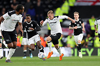 DERBY, ENGLAND - MAY 11: - DCFC vs Fulham. Matej Vydra, goes on the attack