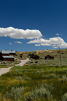Bodie Ghost Town Gold Mine Panorama.Six of seven portrait images taken with a Nikon D3s camera and 50 mm f/1.4G lens (ISO 800, 50 mm, f/16, 1/200 sec). Raw images processed with DxO and the panorama created using AutoPano Giga Pro.