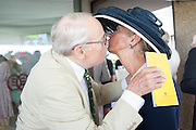 THE DUKE OF RICHMOND; MRS. JOHN LEVESON, Glorious Goodwood. Thursday.  Sussex. 3 August 2013