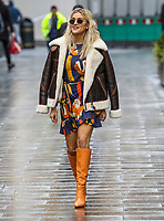 Ashley Roberts, Global Radio Studios, London, UK, 01 December 2020, Photo by piQtured