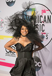 November 19, 2017 - Los Angeles, California, U.S - Diana Ross on the Red Carpet of the 2017 American Music Awards held on Sunday, November 19, 2017 at the Microsoft Theatre in Los Angeles, California. (Credit Image: © Prensa Internacional via ZUMA Wire)