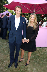 TOM PARKER BOWLES and his wife SARA at the Serpentine Gallery Summer party sponsored by Yves Saint Laurent held at the Serpentine Gallery, Kensington Gardens, London W2 on 11th July 2006.<br /><br />NON EXCLUSIVE - WORLD RIGHTS