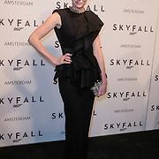 NLD/Amsterdam/20121028 - Inloop premiere nieuwe James Bond film Skyfall , jolanda van den Berg