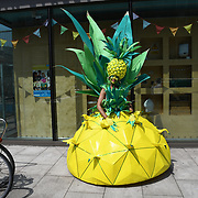 World-class carnival creations at the Night of Festivals London at Bernie Spain Gardens on July 21 2018, London, UK.