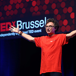 Session I - 28 October 2013<br /> <br /> Walter De Brouwer<br /> <br /> TEDX BRUSSELS 2013 - Belgium - Brussels - October 2013 © TEDx Brussels/Scorpix