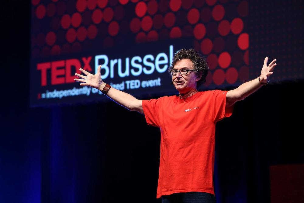 Session I - 28 October 2013<br /> <br /> Walter De Brouwer<br /> <br /> TEDX BRUSSELS 2013 - Belgium - Brussels - October 2013 © TEDx Brussels/Scorpix
