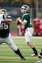 12 November 2011:  Rob Gallik during an NCAA division 3 football game between the Augustana Vikings and the Illinois Wesleyan Titans in Tucci Stadium on Wilder Field, Bloomington IL