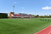 Wilson Field Looking Towards Ernie Chapman Stadium on Campus at Chapman University