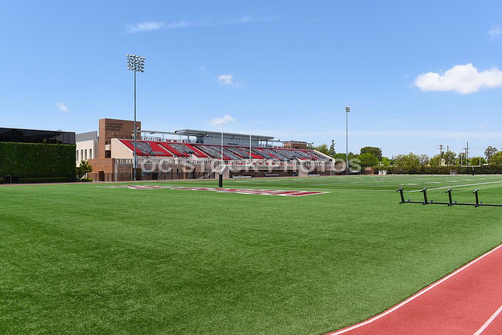 Wilson Field Looking Towards Ernie Chapman Stadium on Campus at Chapman University
