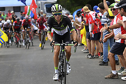 July 16, 2017 - Puy En Velay, France - LE PUY-EN-VELAY, FRANCE - JULY 16 : PAUWELS Serge (BEL) Rider of Team Dimension Data during stage 15 of the 104th edition of the 2017 Tour de France cycling race, a stage of 189.5 kms between Laissac-Severac l'Eglise and Le Puy-En-Velay on July 16, 2017 in Le Puy-En-Velay, France, 16/07/2017 (Credit Image: © Panoramic via ZUMA Press)
