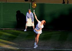 July 5, 2018 - Angleterre - Wimbledon - Alison Van Uytvanck Belgique (Credit Image: © Panoramic via ZUMA Press)