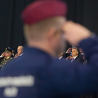 Border hunter police officers take oath