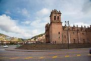 Cathedral, Plaza de Armas, Cusco, Urubamba Province, Peru